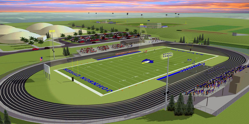 Johnson Creek Football Stadium/Track